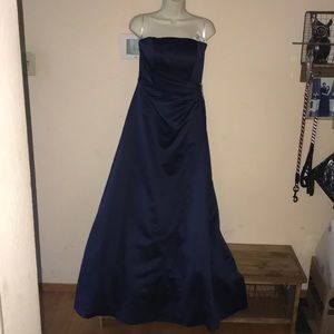 David's bridal size 4 blue dress 👗 New